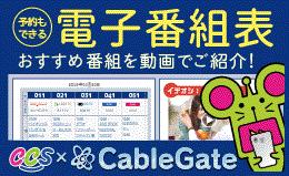 番組表 CableGate